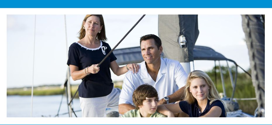 Suchan McQuaid Wealth Management | Family sitting on a boat