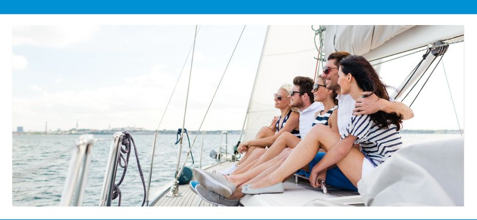 Suchan McQuaid Wealth Management | Wealthy Family on a Sailboat